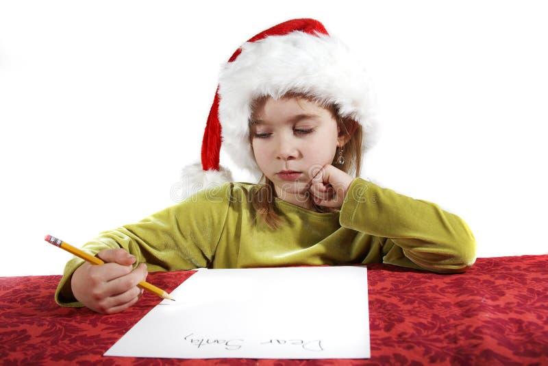listy życzenie świąteczne zdjęcie stock