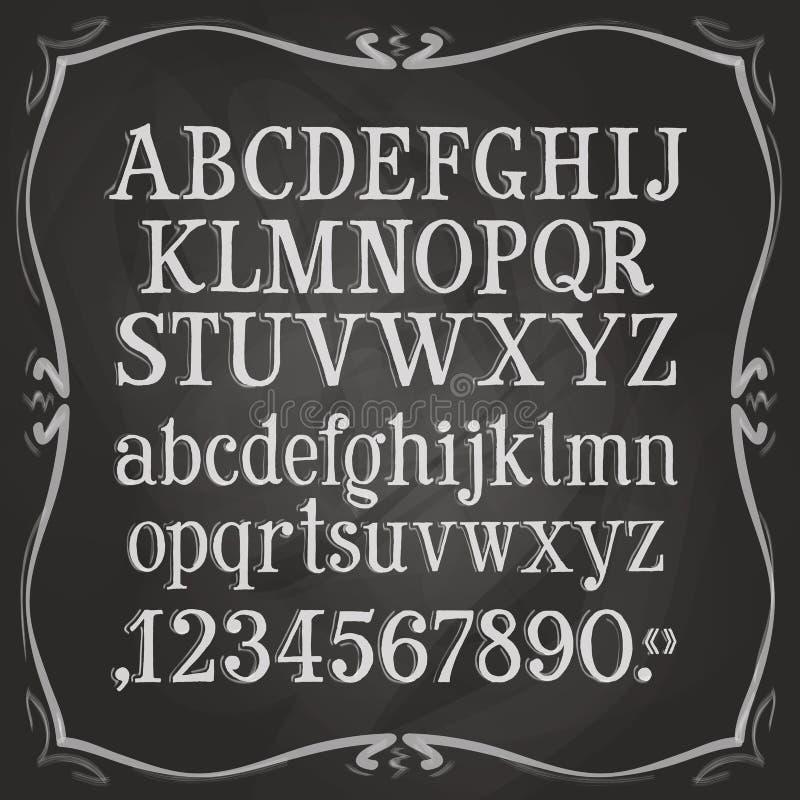 Listy i liczba loga projekta szablon tekst ilustracja wektor