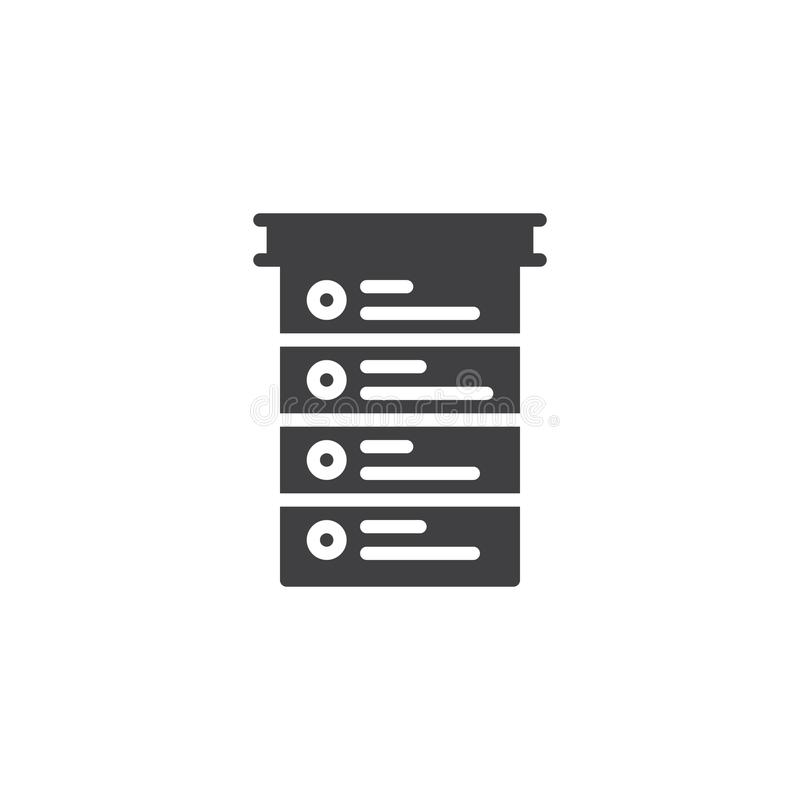Listy kontrolnej ikony wektor royalty ilustracja