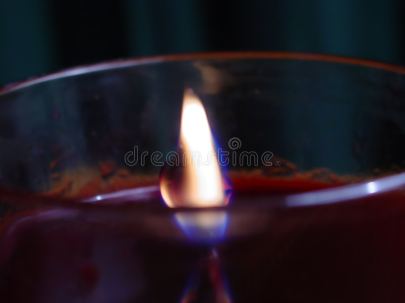 Download Lit Candle stock image. Image of candle, flame, fire, warmth - 199739