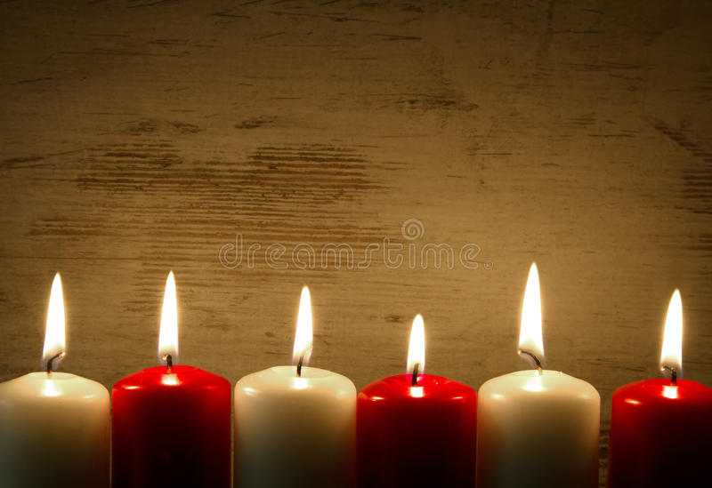 Fabulous Lit Candles, Frame, Background Stock Photo - Image of copy  OC61