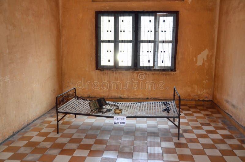 Lit de torture image libre de droits