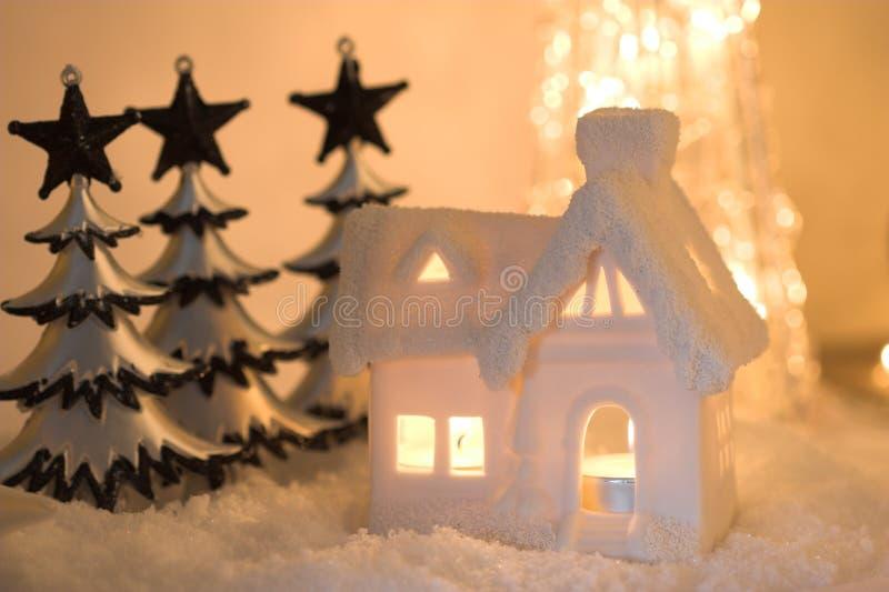 Lit durch Kerzeleuchte stockfotografie