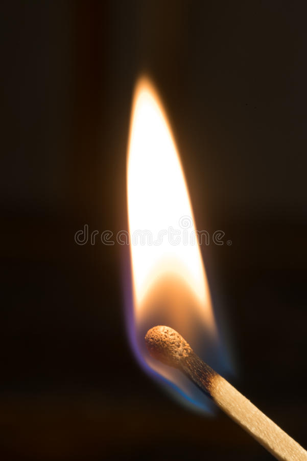 Lit Match royalty free stock images