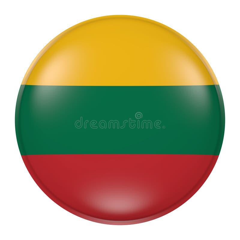 Litauen knapp royaltyfri illustrationer