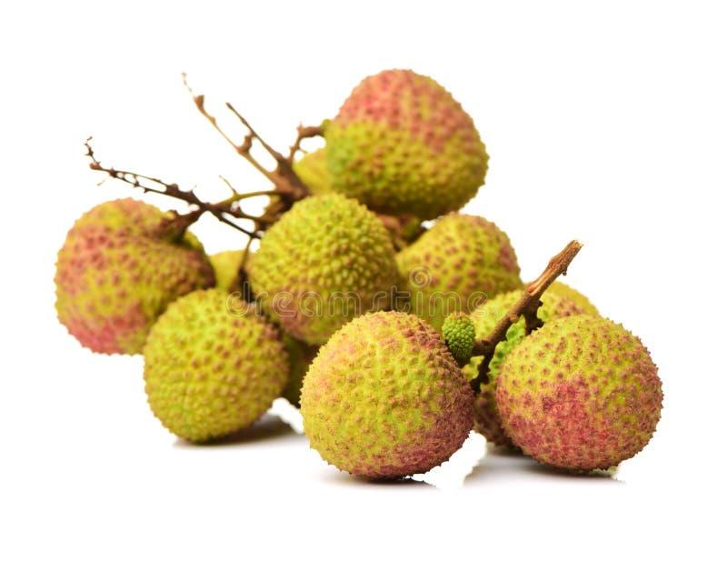 Свежий Litchi lychee chinensis стоковые фото