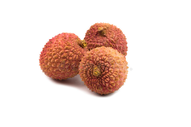 Download Litchis On White Background Stock Image - Image: 83705247