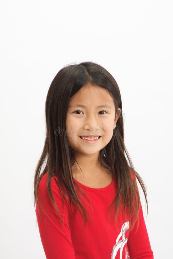 Lite asiatisk flicka 1 fotografering för bildbyråer