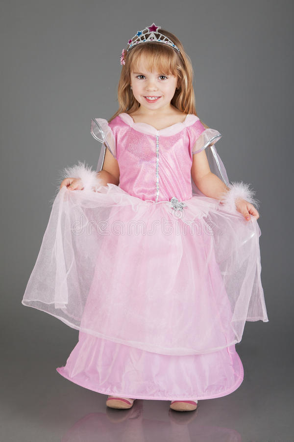 Lite Princess royaltyfria bilder