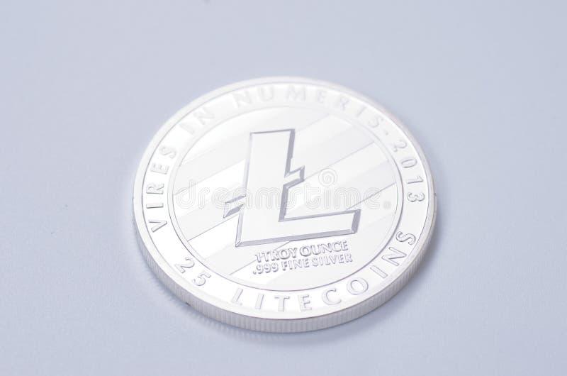 Litecoin stock photo
