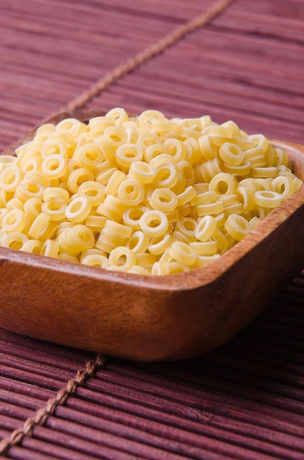 Anellini pasta arkivfoton