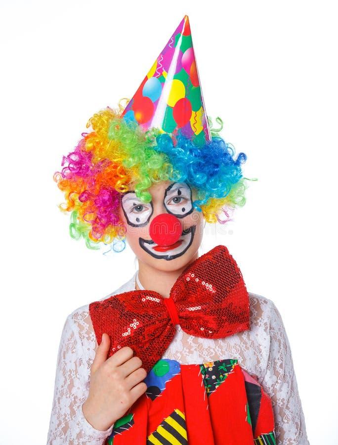 Liten clown arkivbild