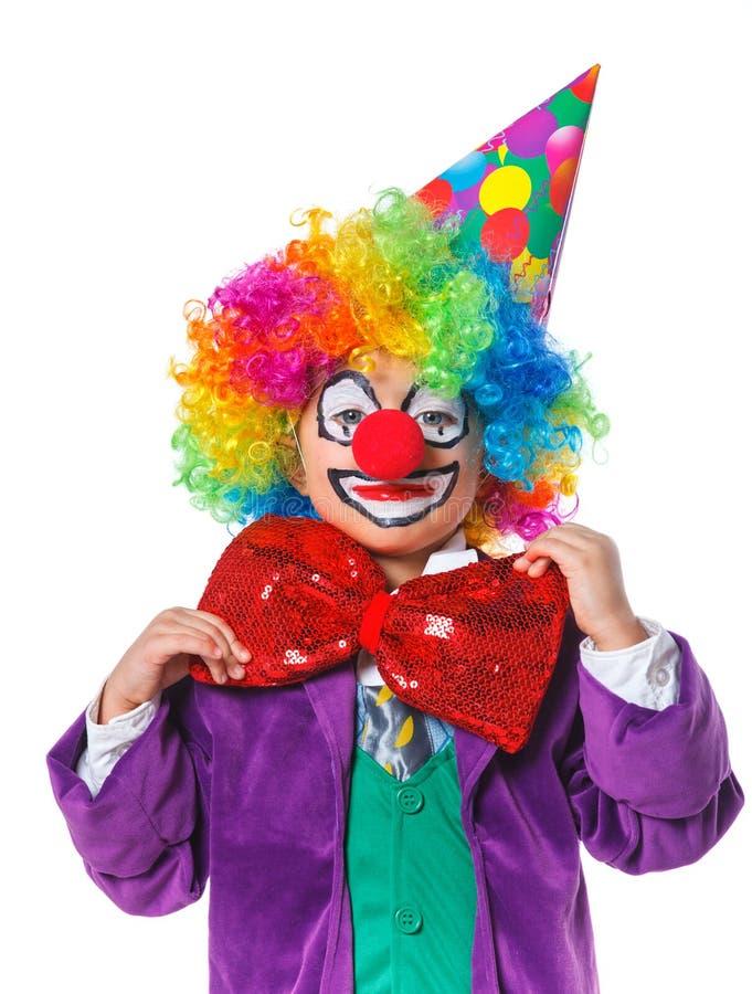 Liten clown royaltyfri foto