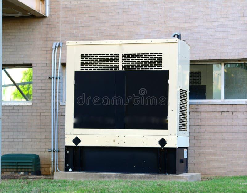 Liten diesel - driven generator royaltyfri fotografi