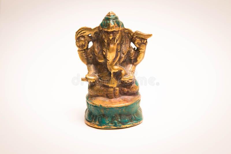 Liten elefant Indien för statyskulpturganesh arkivbild