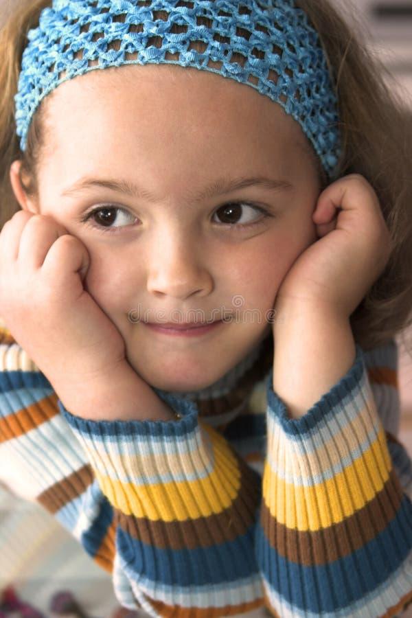 liten flicka arkivbild