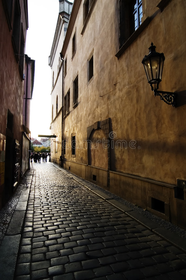 liten gata arkivfoto