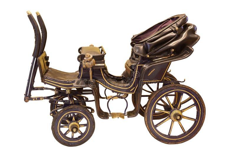 Liten hästvagn för tappning royaltyfri bild