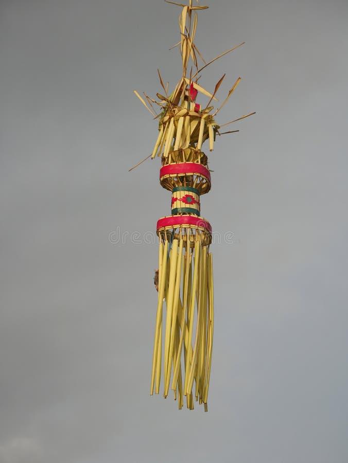 Liten hinduisk hängande relikskrin royaltyfri foto