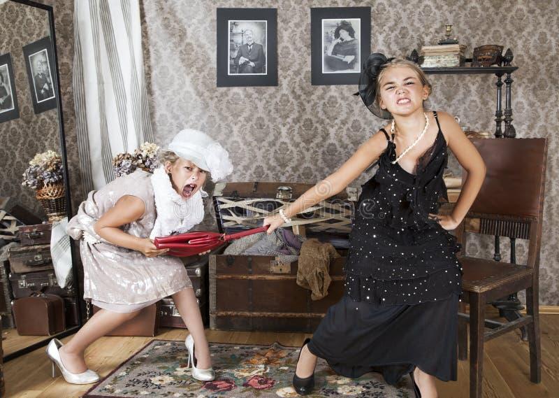 Liten konflikt fotografering för bildbyråer