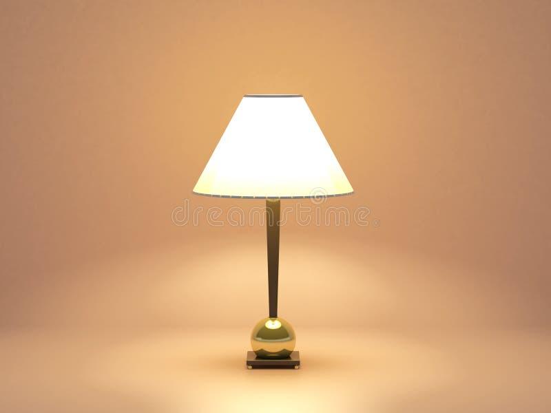 liten lampa vektor illustrationer