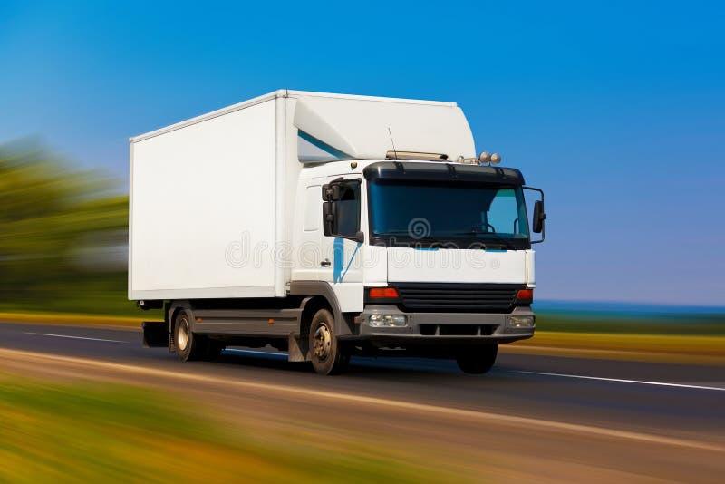 liten lastbil arkivbild