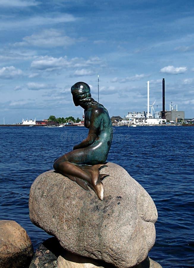 liten mermaid 02 arkivfoto