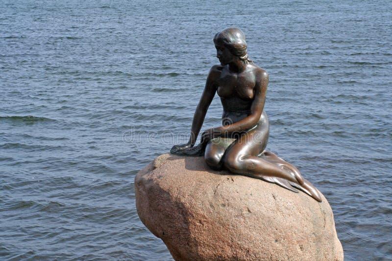liten mermaid royaltyfria foton