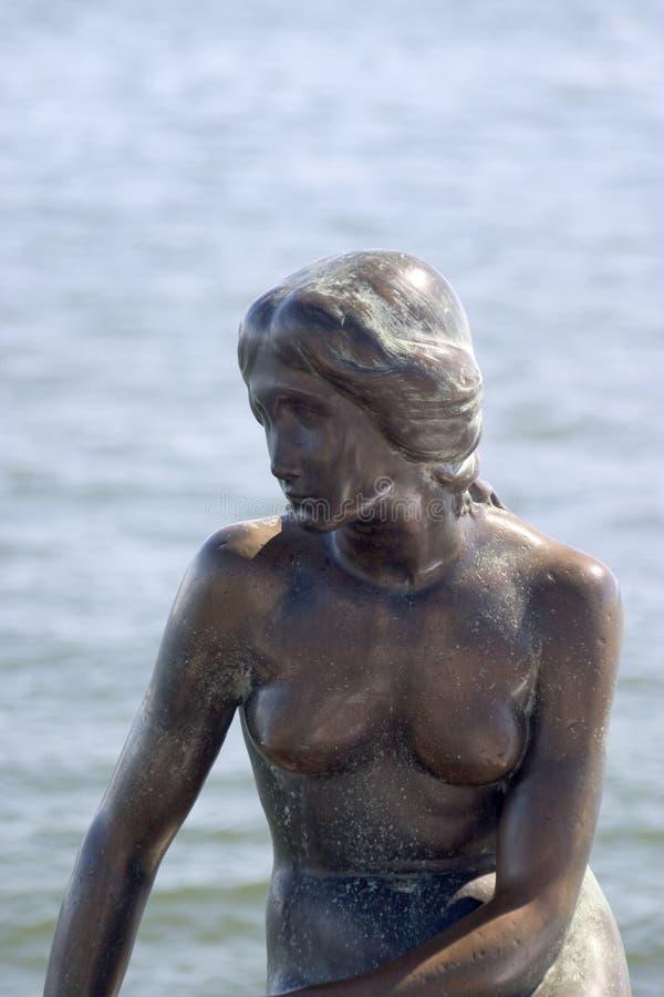 Liten Mermaid Redaktionell Arkivbild