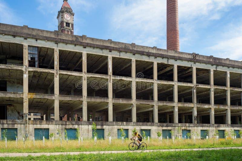 Liten Miami scenisk slinga nära Cincinnati arkivbilder