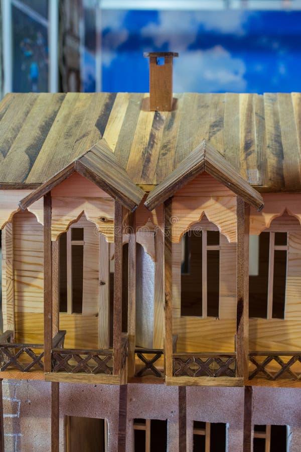 Liten modell av exemplet av turkisk traditionell arkitektur fotografering för bildbyråer