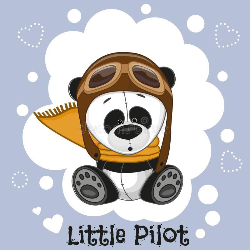 liten pilot stock illustrationer