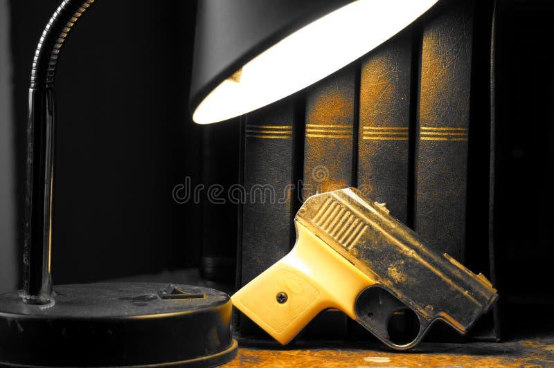 liten pistol royaltyfri bild