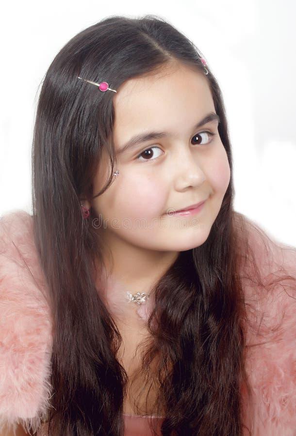 liten princess royaltyfria foton