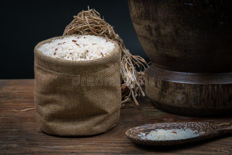 liten ricesäck arkivfoto