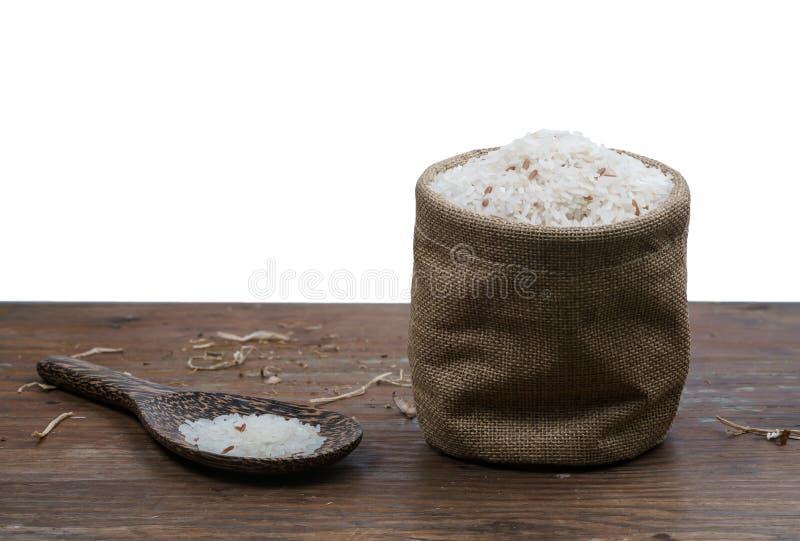 liten ricesäck arkivfoton