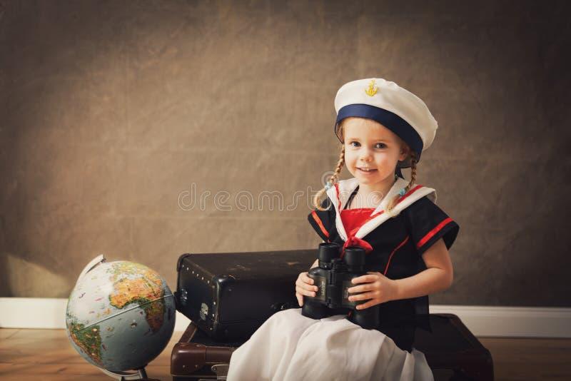 liten sjöman royaltyfri fotografi