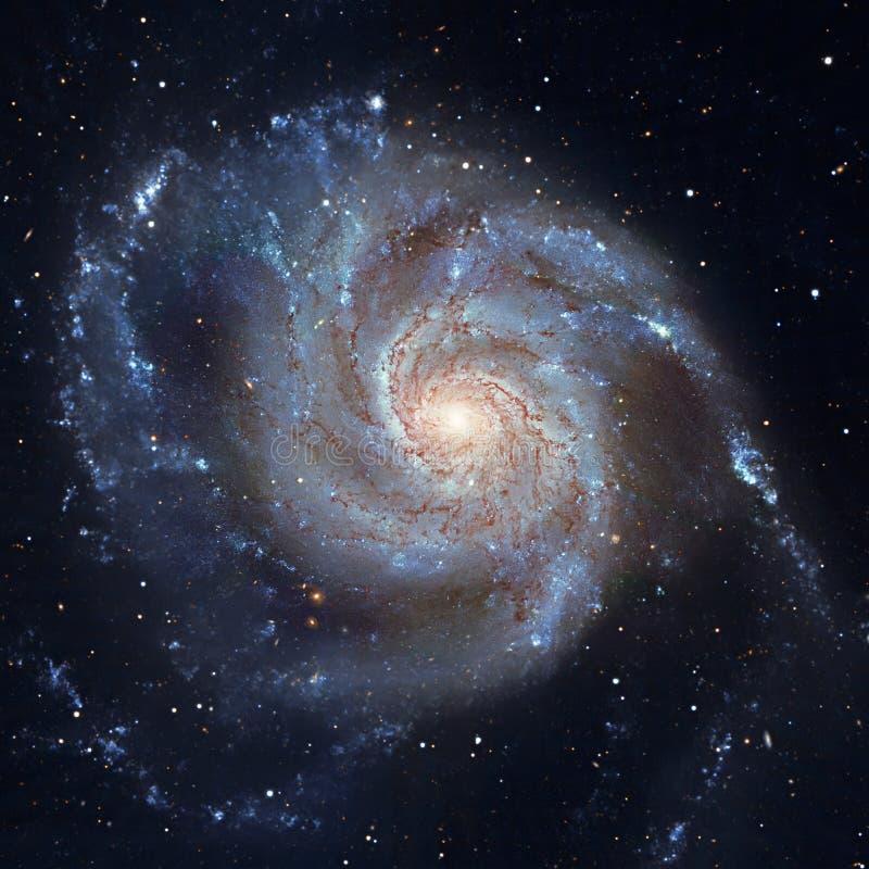 Liten solgalax smutsigare 101, M101 i konstellationen Ursa Major royaltyfri foto