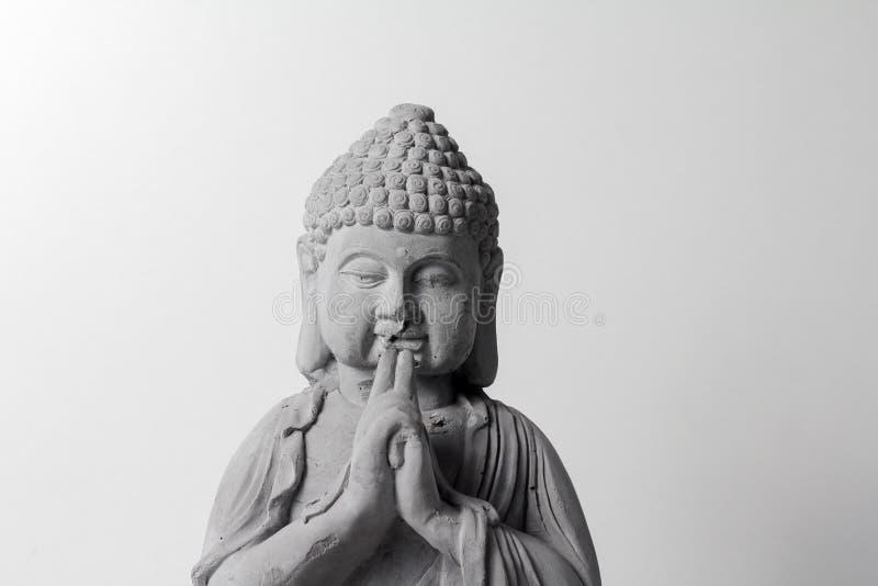 Liten staty av buddha royaltyfri foto