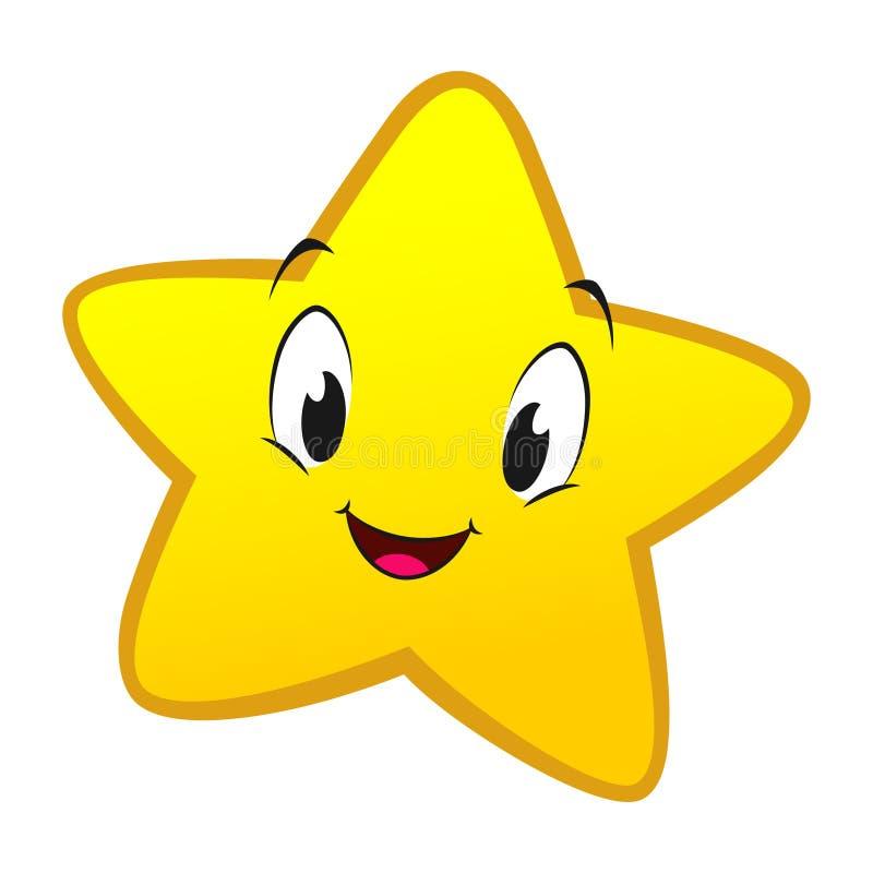 Liten stjärna för tecknad film