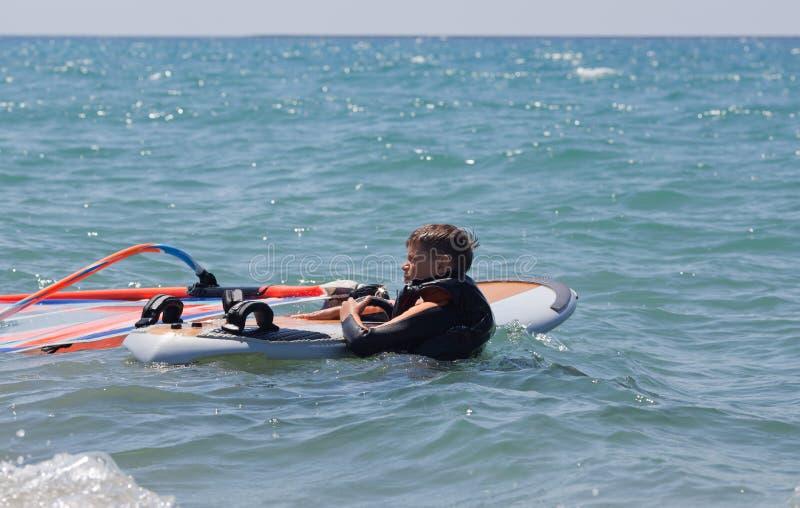 Liten surfare royaltyfri bild