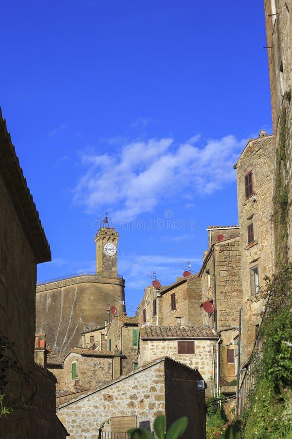 Liten Tuscany by royaltyfria bilder