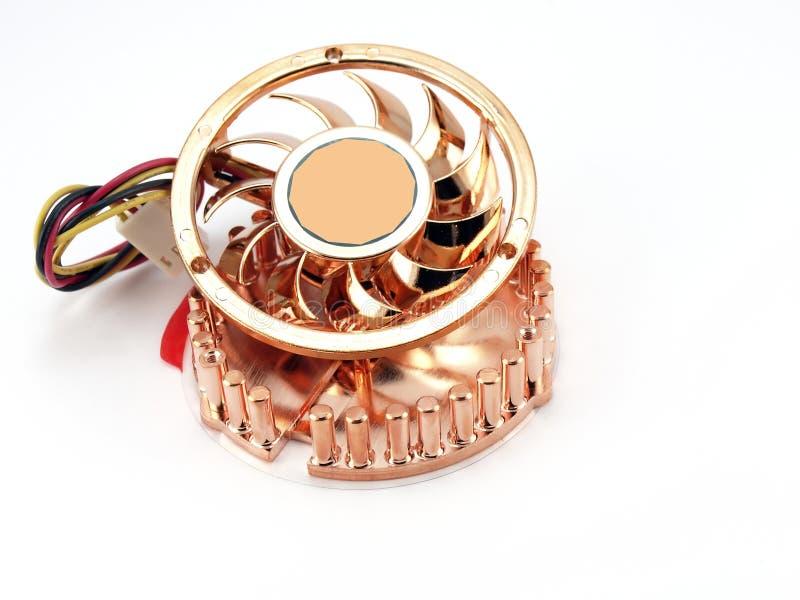 liten ventilatormikroprocessor royaltyfri fotografi