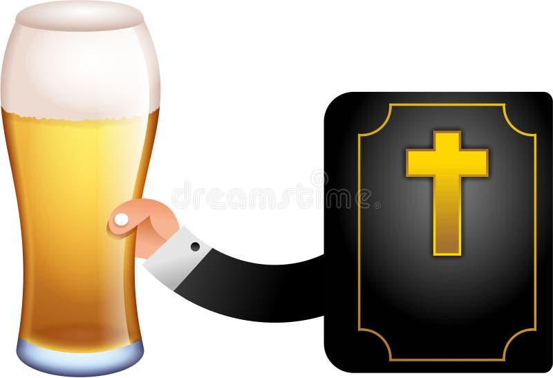 liter för gud royaltyfri illustrationer