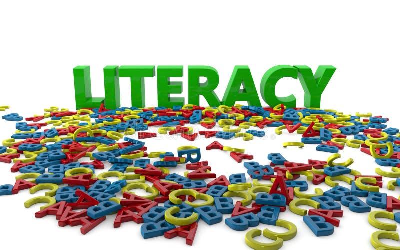 Literacy stock illustration. Illustration of school ...