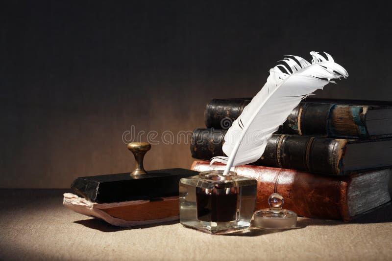 Literatur-Symbol stockfoto