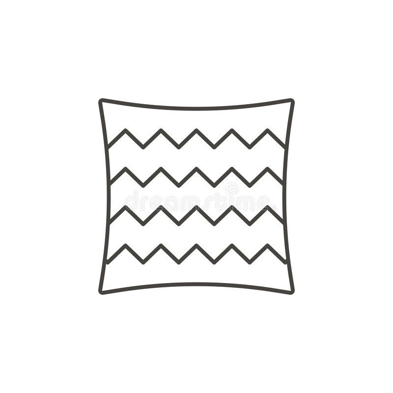 Literie, icône de coussin - vecteur Concept naturel d'illustration simple d'élément Literie, icône de coussin - vecteur Concept o illustration de vecteur