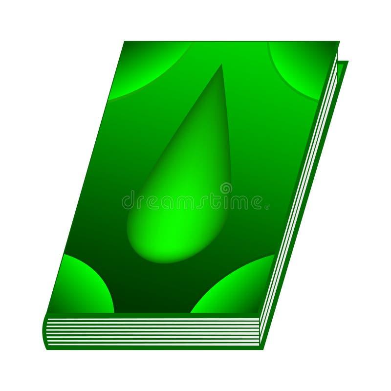 Literuje książkę jadu element dla Twój projekta, gra, karta Antyczna książka z alchemia przepisami, mistyczka zachwyty i czary i ilustracji