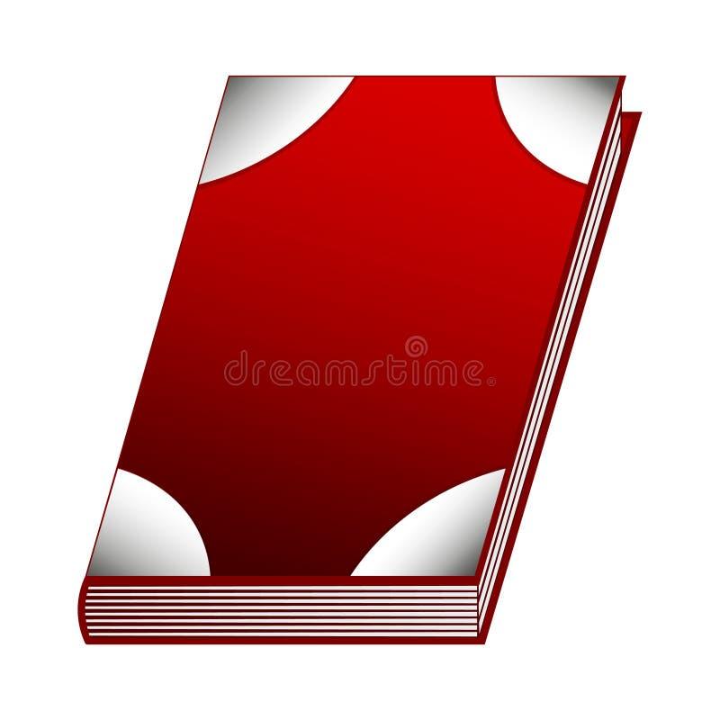 Literuje książkę pożarniczy element dla Twój projekta, gra, karta Antyczna książka z alchemia przepisami, mistyczka zachwyty i cz royalty ilustracja