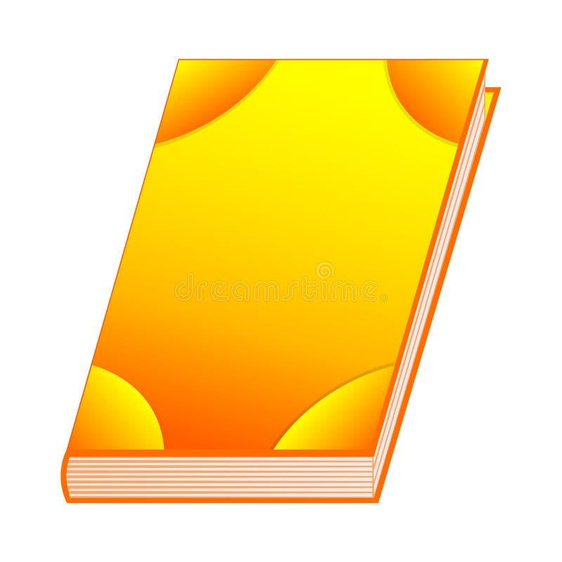 Literuje książkę słońce element dla Twój projekta, gra, karta Antyczna książka z alchemia przepisami, mistyczka zachwyty i czary  ilustracja wektor